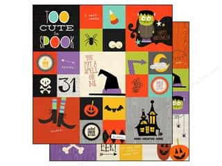"Pattern $2-$4 Clearance : Simple Stories Frankie & Friends Paper 12""x 12"" Insta-Square 2""x 2"" & 4""x 4"" (25 sheets)"