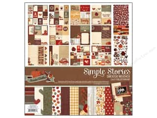 Simple Stories Sweater Wthr Collection Kit 12x12