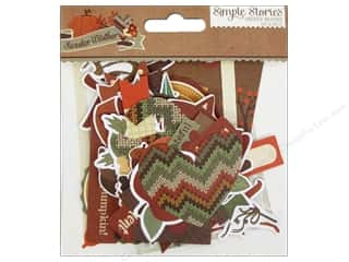 Simple Stories Animals: Simple Stories Sweater Weather Bits & Pieces
