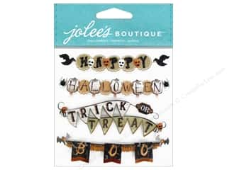 Halloween Size: EK Jolee's Boutique Repeat Vintage Halloween Banner