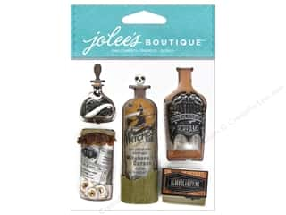 Bottles paper dimensions: EK Jolee's Boutique Vintage Bottles and Labels