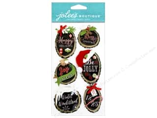 Stickers EK Jolee's Boutique: EK Jolee's Boutique Holiday Rings