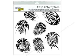 The Crafter's Workshop Template 12 x 12 in. Trilobites