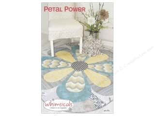 home decor pattern: Whimsicals Petal Power Pattern