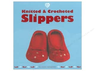 Guild of Master Craftsman Publications Ltd. New: Guild of Master Craftsman Knitted & Crocheted Slippers Book