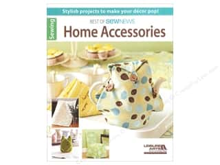 New Books & Patterns: Leisure Arts Best Of SewNews Home Accessories Book