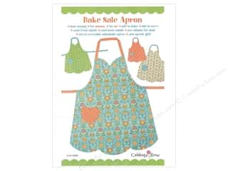 Sale Hearts: Cabbage Rose Bake Sale Apron Pattern