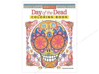 drawing full sale: Design Originals Coloring Day Of The Dead Book