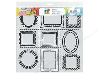 The Crafter's Workshop Template 12 x 12 in. Hand Drawn Frames