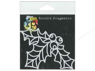 Crafter's Workshop, The $4 - $5: The Crafters Workshop Stencil Ronda's Fragments Curly Holly