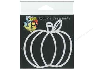 The Crafters Workshop Stencil Fragments Pumpkin