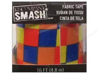 Reflective Products Fabric Tape: K&Company Smash Fabric Tape Color Blocks