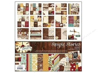 Legacy Patterns Borders: Simple Stories Legacy Collection Kit