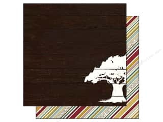 "Family Brown: Simple Stories Legacy Paper 12""x 12"" Family Tree (25 pieces)"