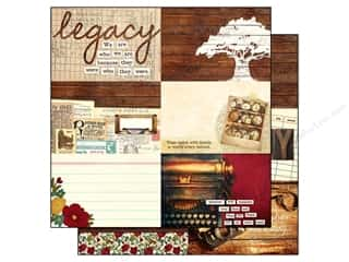 "Patterns Family: Simple Stories Legacy Paper 12""x 12"" Journaling Card Elements Horizontal 4""x 6"" (25 pieces)"