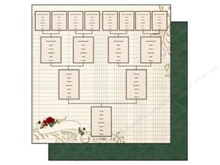 "Patterns Family: Simple Stories Legacy Paper 12""x 12"" Pedigree (25 pieces)"
