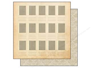 "Legacy Patterns Borders: Simple Stories Legacy Paper 12""x 12"" Portrait 2 (25 pieces)"