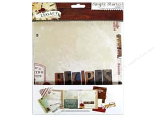Family Brown: Simple Stories Legacy Snap Recipe Divider Pages