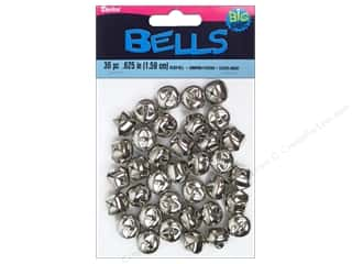 Darice Bells Jingle 15mm Silver 36pc
