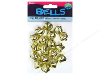 Darice Bells Jingle 22mm Gold 18pc