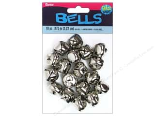 Christmas: Darice Jingle Bells 7/8 in. Silver 18 pc.