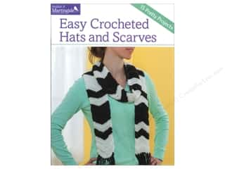 That Patchwork Place Make It Martingale Series Easy Crocheted Hats & Scarves Book Picture