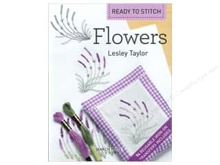 Book-Needlework: Search Press Ready to Stitch: Flowers Book