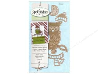 Winter inches: Spellbinders D-Lites Die Winter Owl