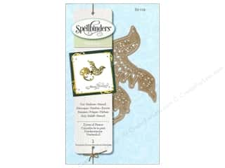 Embossing Aids Christmas: Spellbinders D-Lites Die Dove of Peace