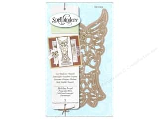 Angels/Cherubs/Fairies Stencils: Spellbinders D-Lites Die Holiday Angel