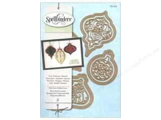 Embossing Aids Christmas: Spellbinders Shapeabilities Die Heirloom Reflections