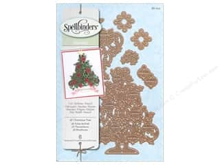 Embossing Aids Christmas: Spellbinders Shapeabilities Die 3D Christmas Tree
