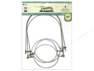 Loew Cornell: Loew Cornell Transform Mason Regular Mouth Wire Handles Silver 3 pc.