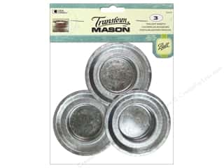 Glass Loew Cornell Transform Mason Paint: Loew Cornell Transform Mason Tealight Inserts 3 pc.