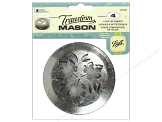 Transform Mason Lid Inserts 4 pc. Leaf
