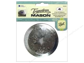 Transform Mason Lid Inserts 4 pc. Star
