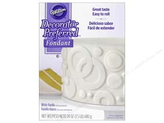Food: Wilton Fondant 24 oz. White Vanilla