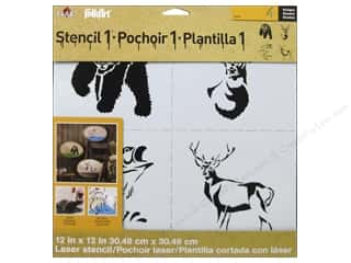 Weekly Specials Scrapbooking Kits: Plaid Stencil FolkArt Designer Nature