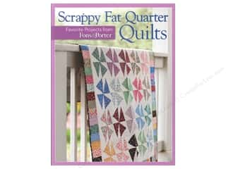 Quilted Trillium, The Fat Quarter / Jelly Roll / Charm / Cake Patterns: Fons & Porter's Scrappy Fat Quarter Quilts Book