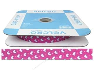 "VELCRO One Wrap Strap .75""x 45' Reel Swthrt Pink (45 foot)"