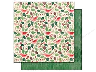 BasicGrey 12 x 12 in. Paper Evergreen Goodwill (25 piece)