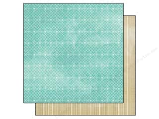 BasicGrey 12 x 12 in. Paper Evergreen Sleigh Ride (25 piece)