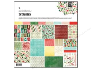 BasicGrey Collection Pack 12 x 12 in. Evergreen