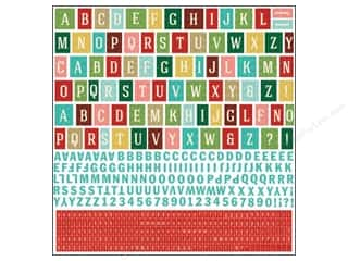 BasicGrey Alphabet Stickers Evergreen