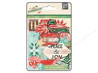 Joy Flowers: BasicGrey Die-Cuts & Transparencies Evergreen