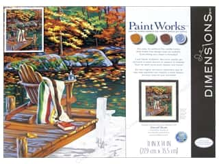 "Paintworks Paint By Number 11""x 14"" Golden Pond"