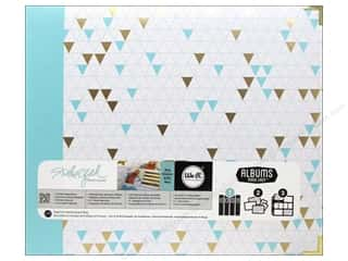 "We R Memory Keepers Photo Albums & Scrapbooks: We R Memory Album Studio Gold Teresa Collins 12""x 12"" Triangle"