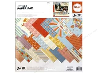 We R Memory Paper 12x12 Pad Jet Set