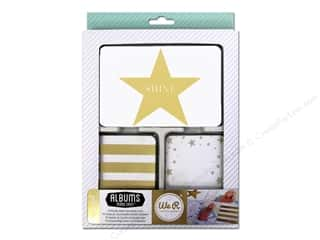 Note Cards paper dimensions: We R Memory Cards Albums Made Easy Studio Gold Teresa Collins Journal