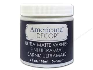 DecoArt Elegant Finish Paint: DecoArt Americana Decor Varnish 4oz Ultra Matte